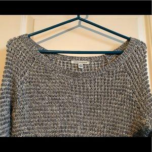 Grey/white Light Sweater